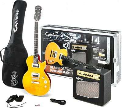 """Epiphone by Gibson Slash """"AFD"""" Les Paul Special-II Performance Pack – Set chitarra e amplificatore"""