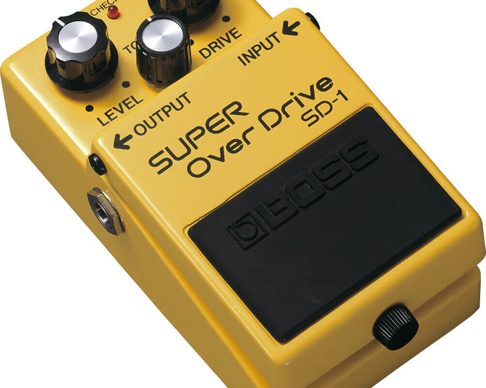 Recensione Boss SD-1 Super Overdrive